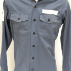 Shirt, Navy, Long Sleeve (2)